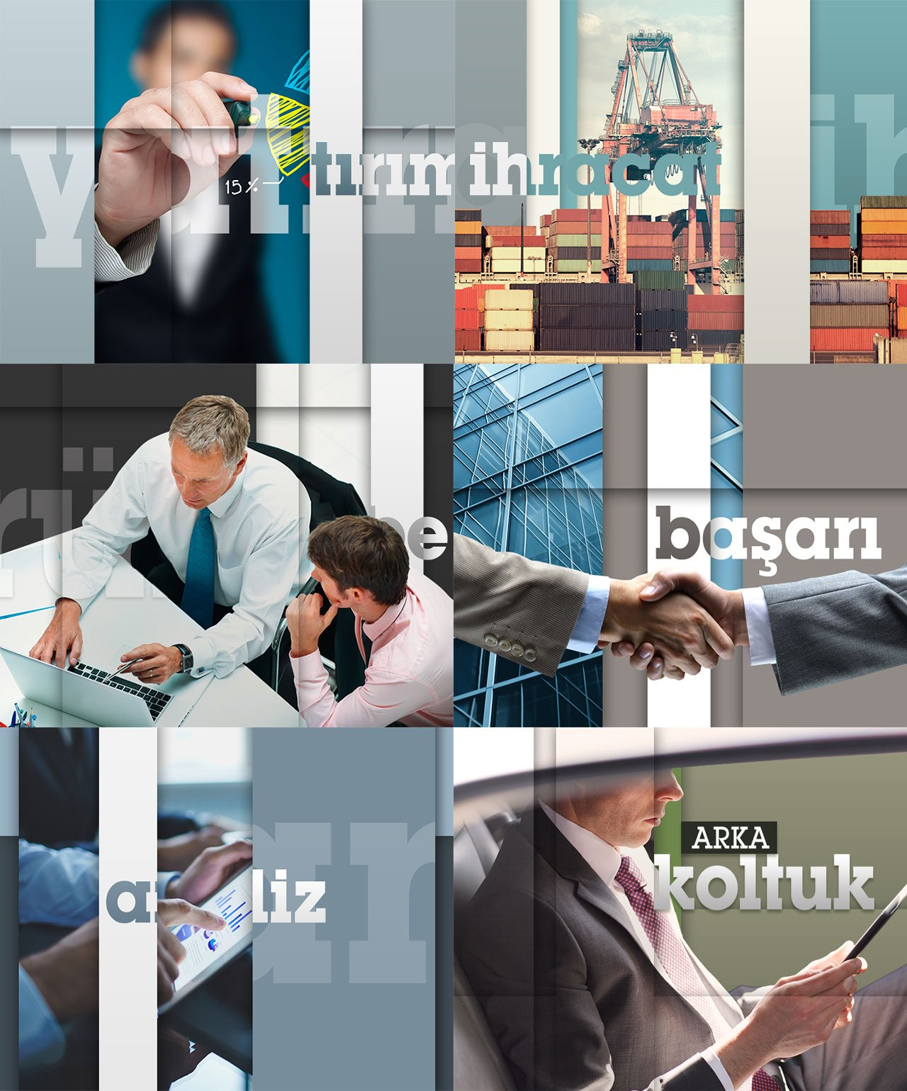business related images for style frame design