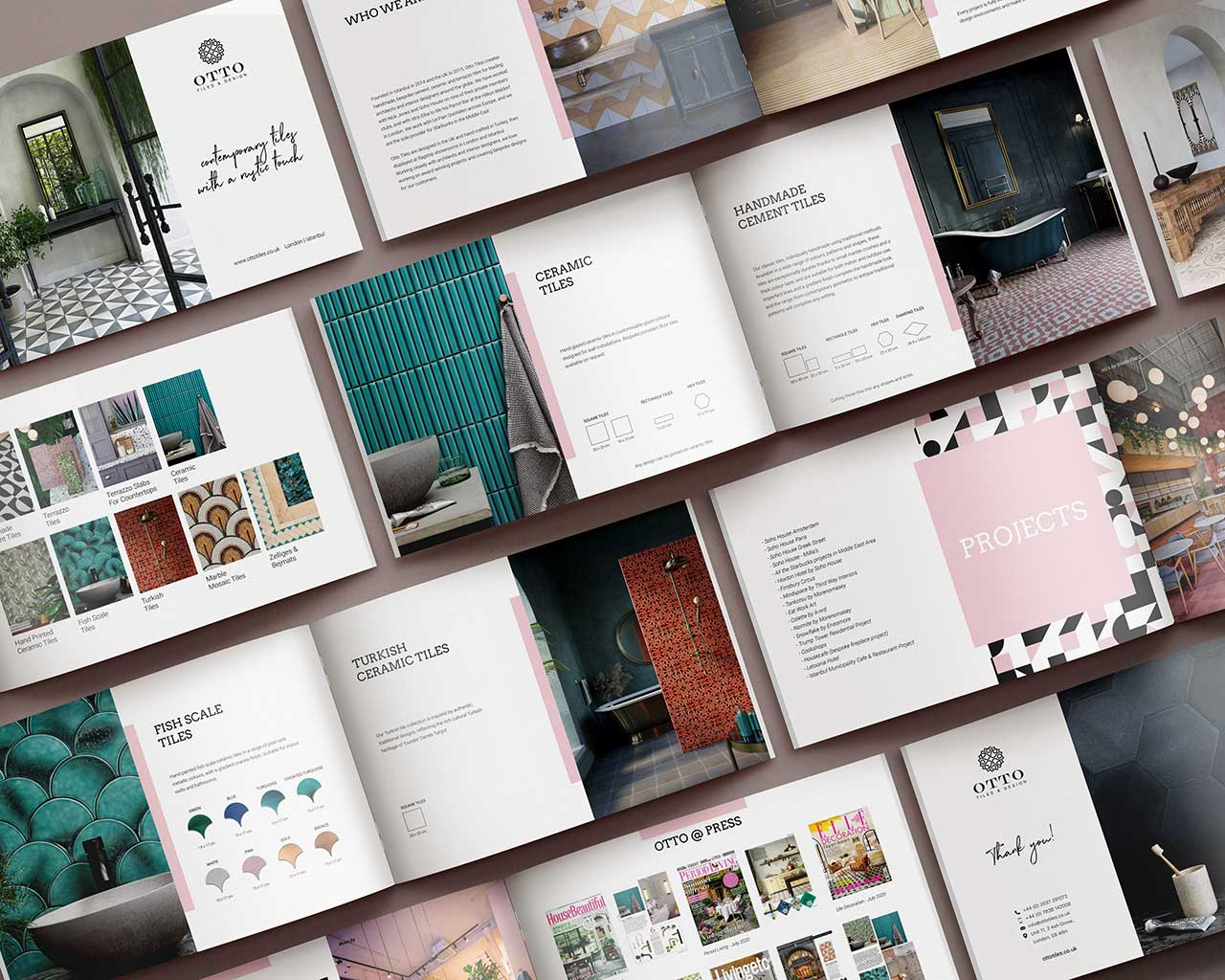 Digital tile catalog