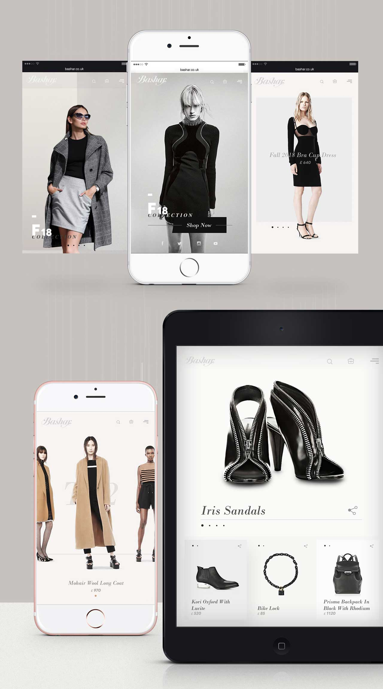 responsive wen design for fashion