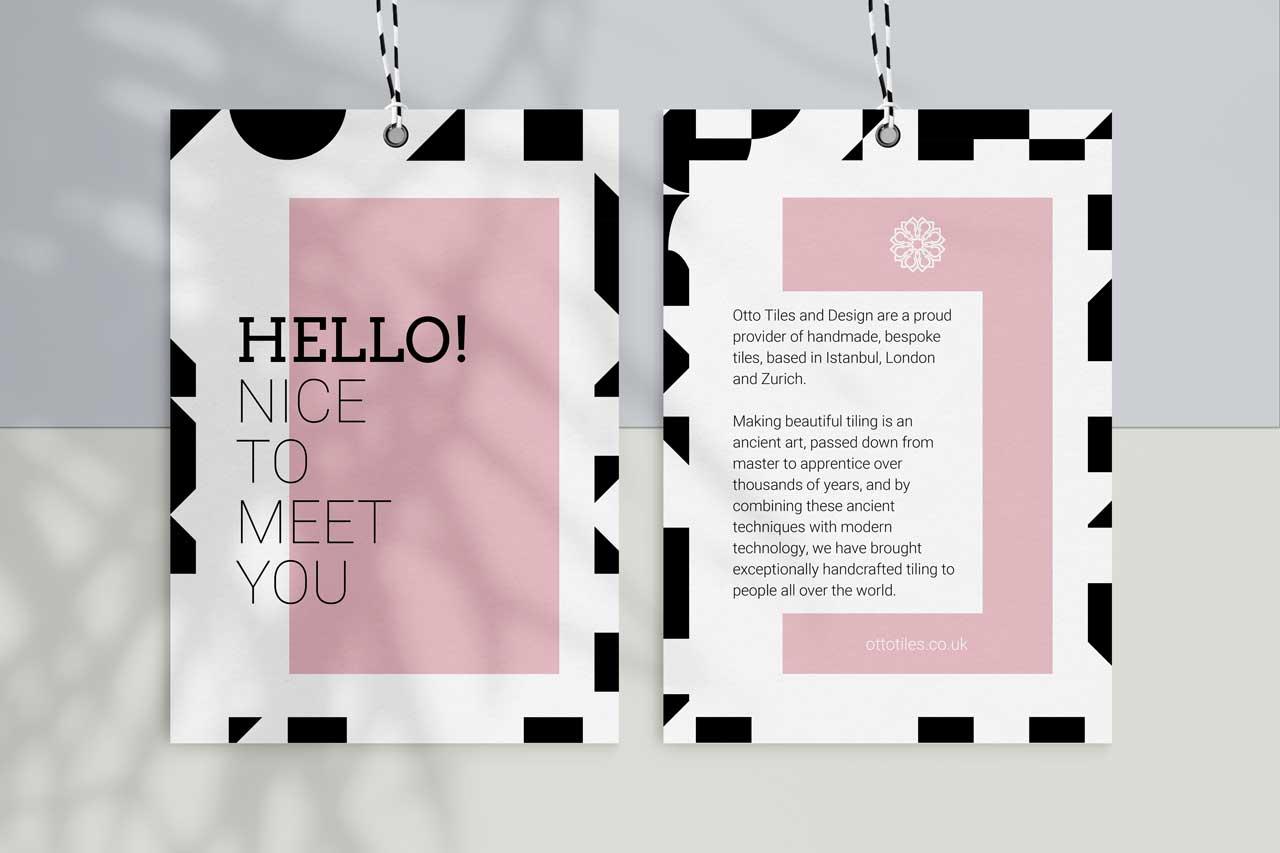 pink brochure