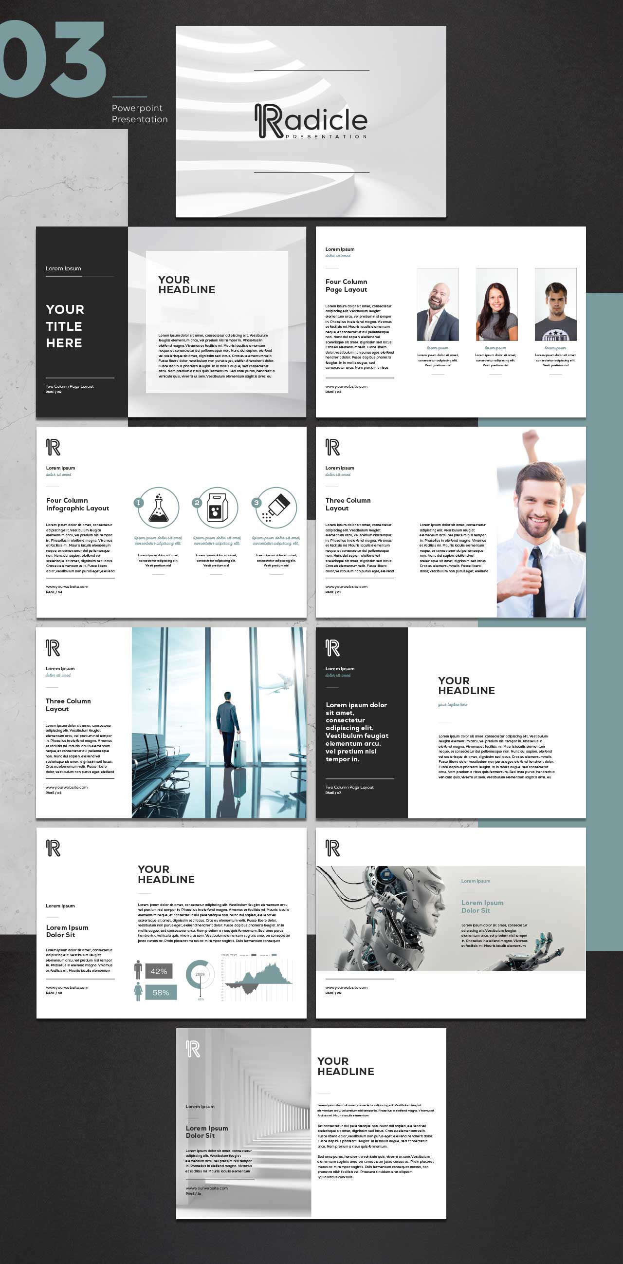 powerpoint page layout