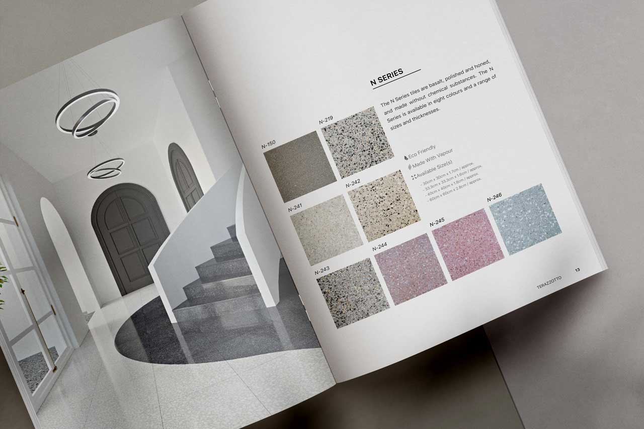 Inside the Terazzotto catalogue