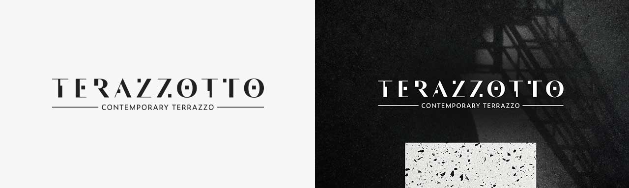 Logo design for Terazzotto tiles