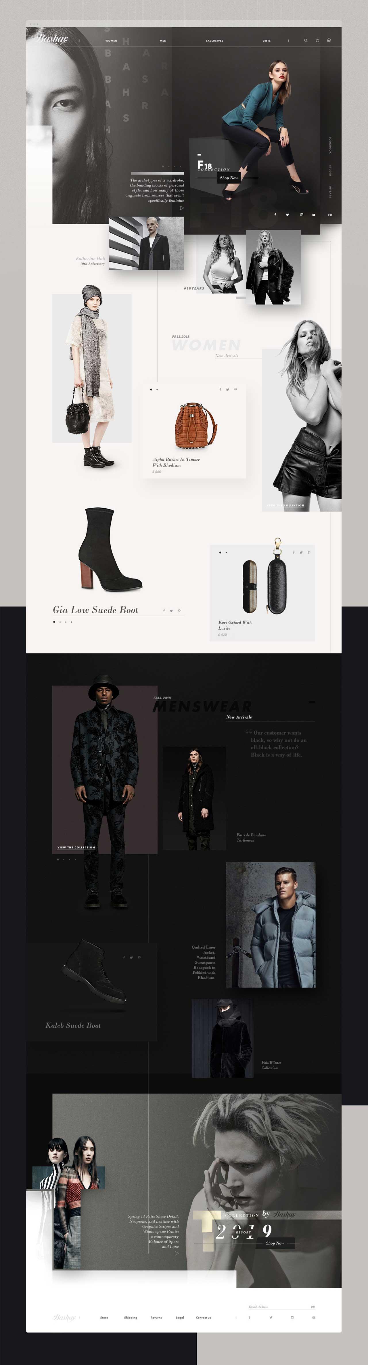 a web page view