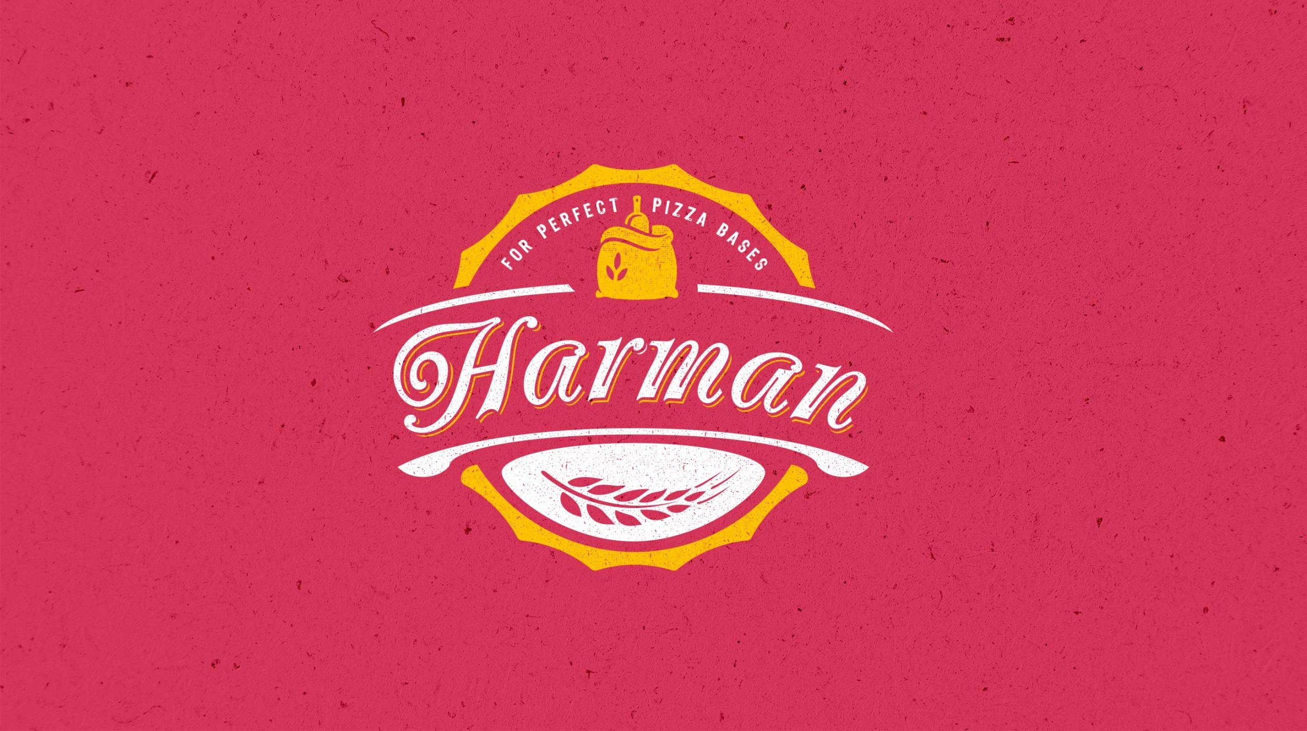 New Harman logo, designed by BONB Creative & Design