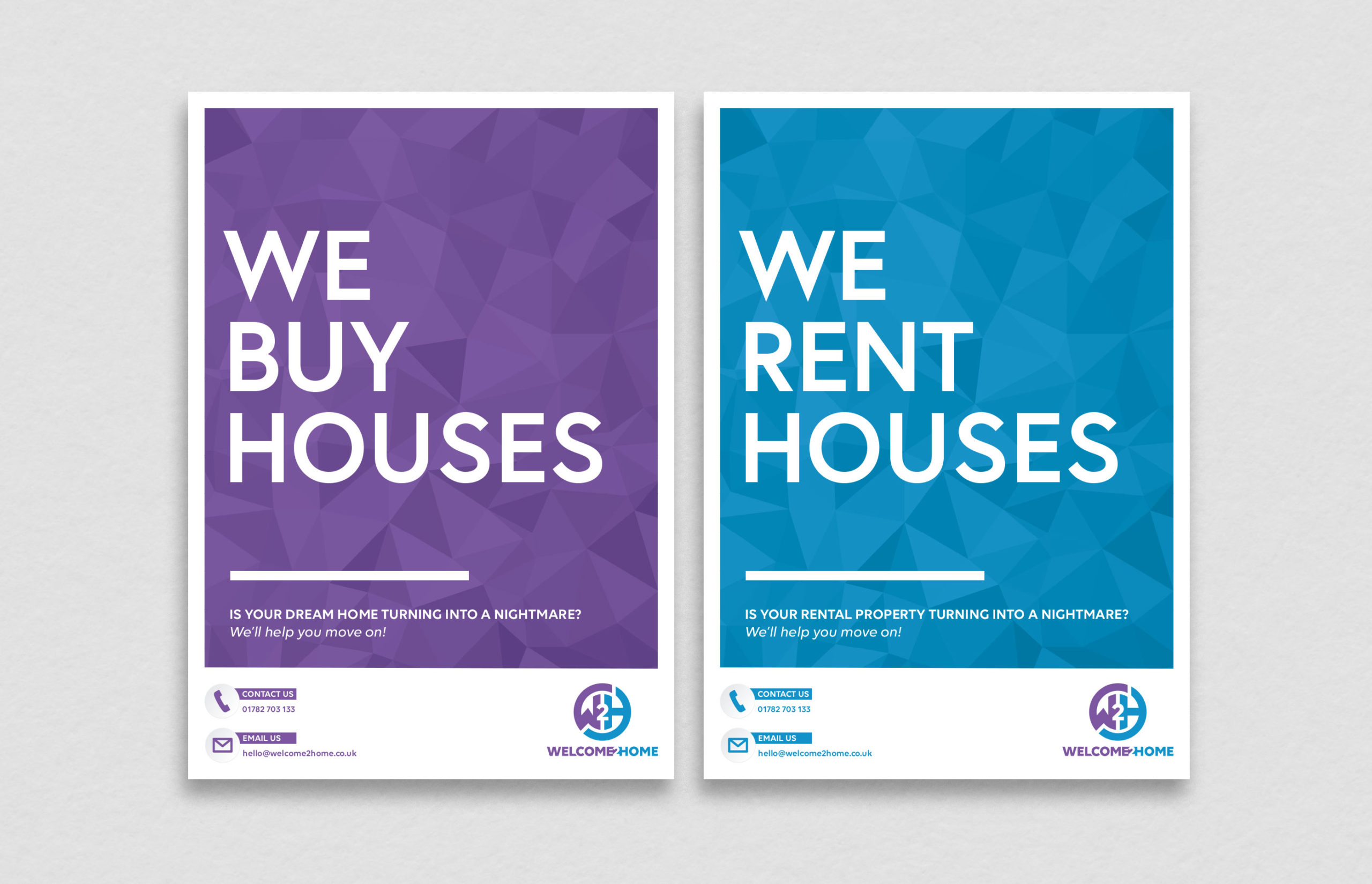 Poster Ad for Property Business designed by BONB Creative & Design
