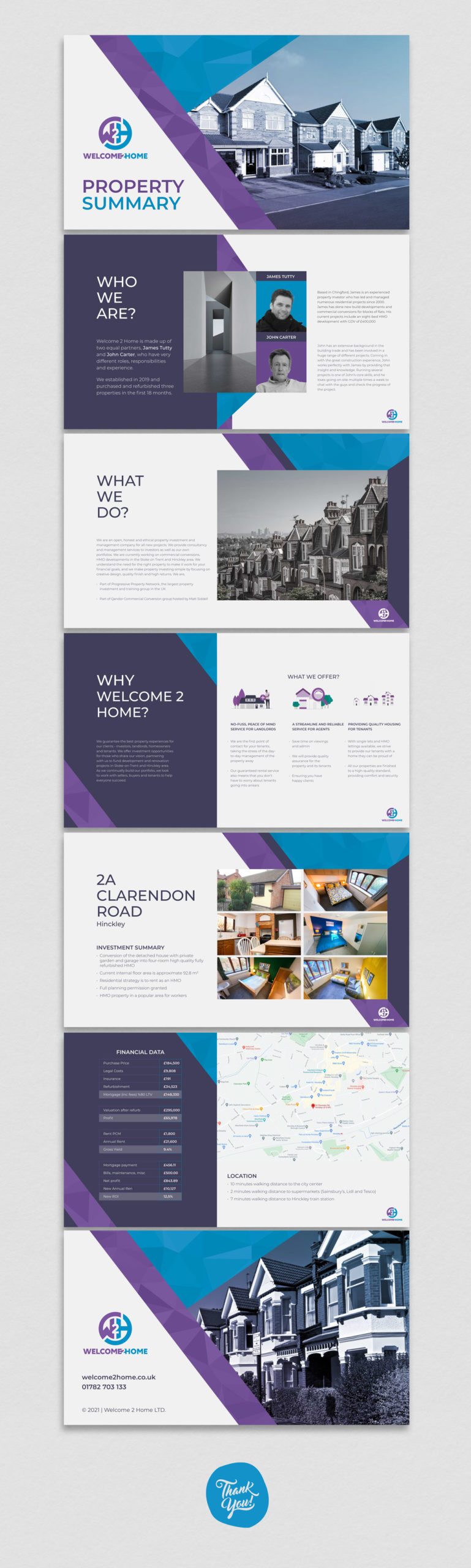 Digital Brochure designed by BONB Creative & Design