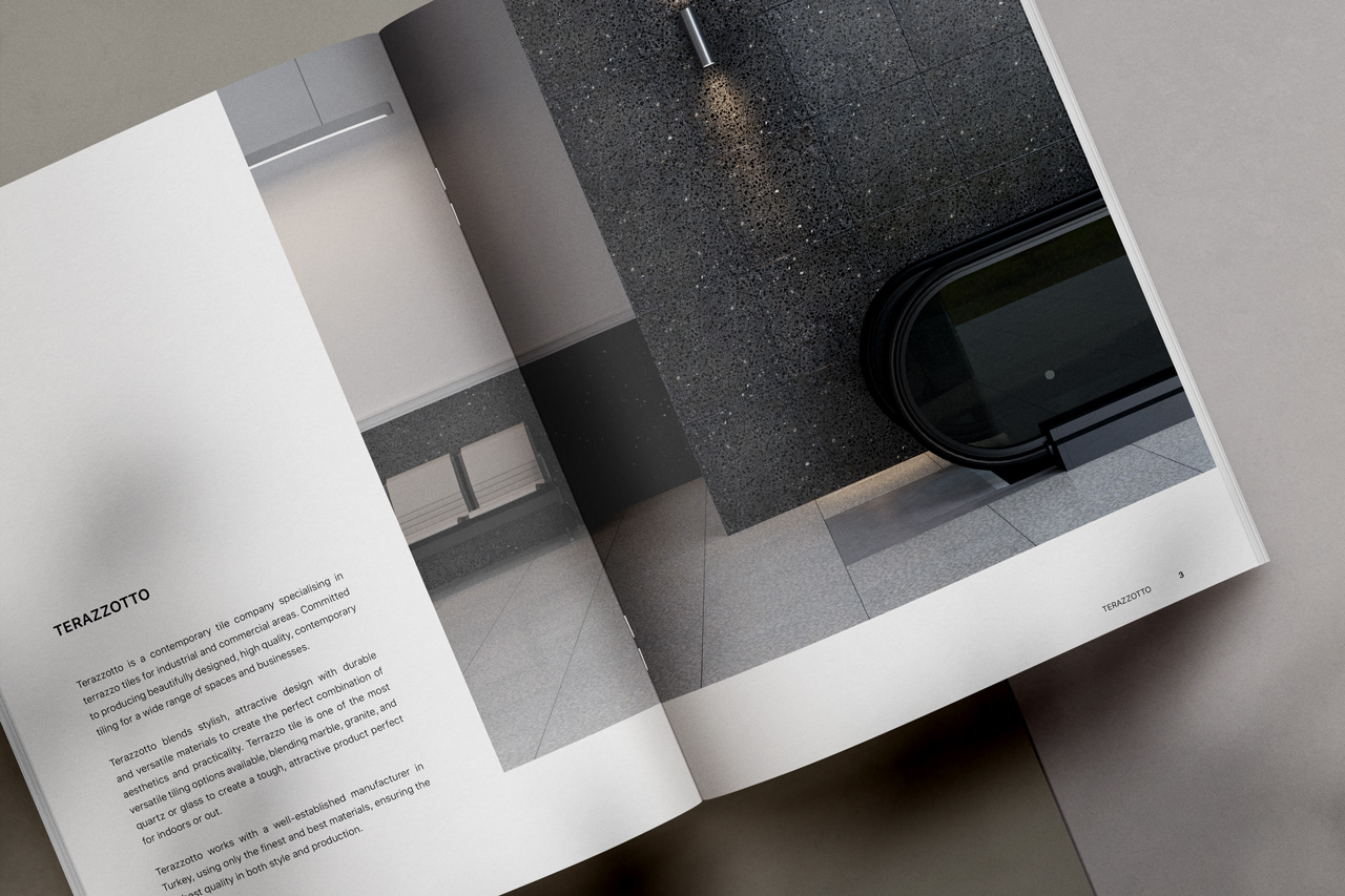 tile product catalog about page